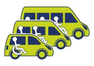 Voorraad aanbod van gebruikte- en nieuwe personen- rolstoelvervoer voertuigen