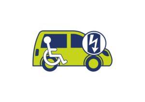 Elektrische rolstoel auto of rolstoelbus