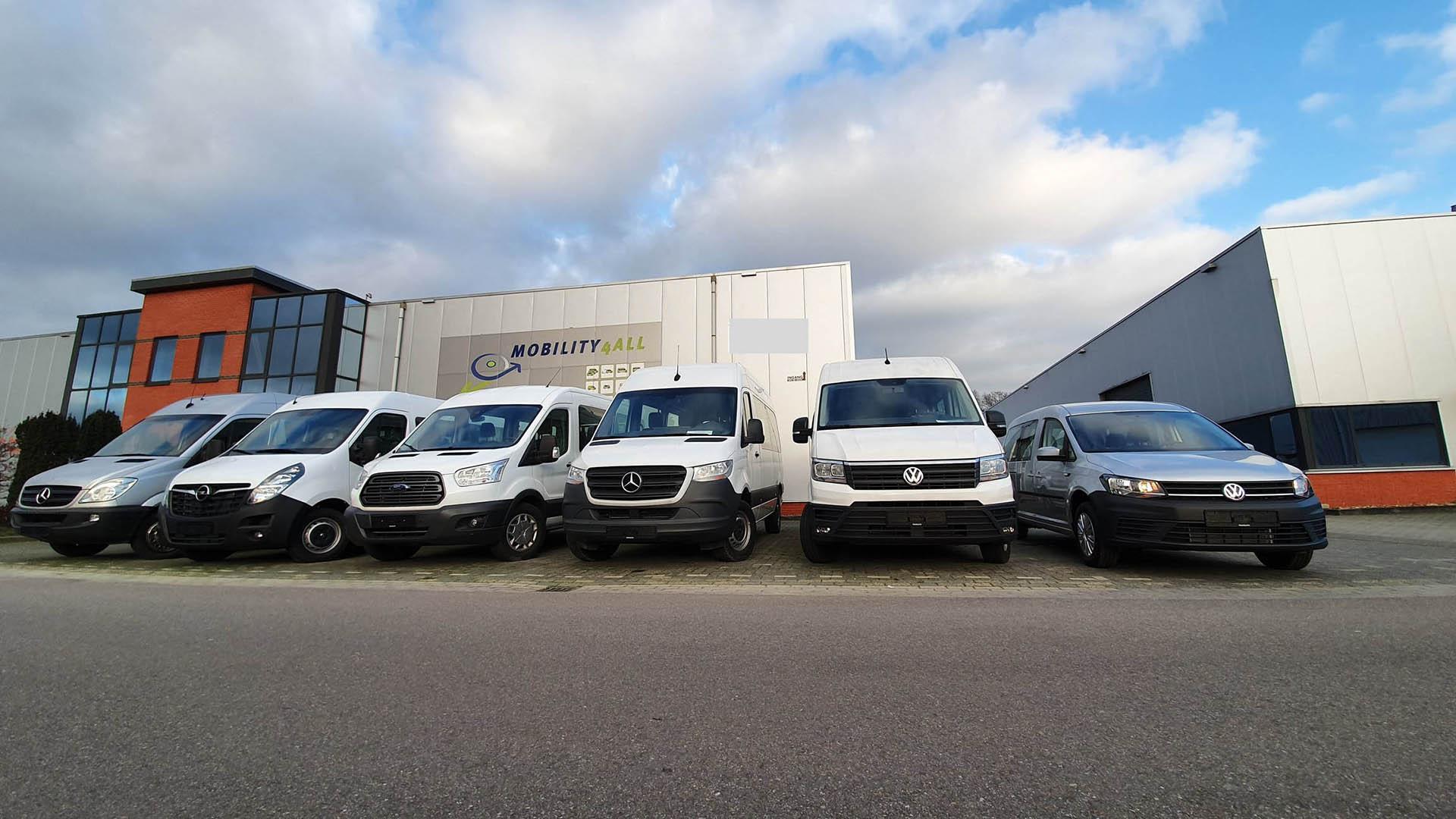 Van alle markten / merken thuis, wij passen ALLE voertuigen aan !